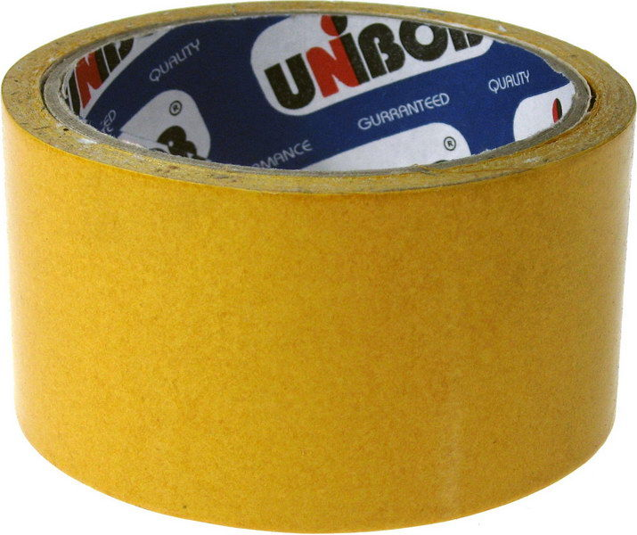 скотч двухсторонний 50 10м unibob